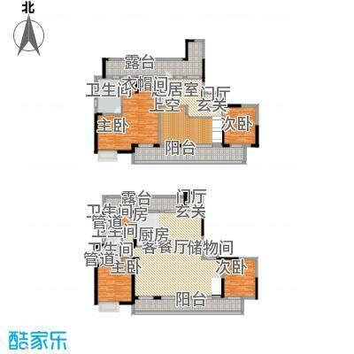 佳兆业御峰220.00㎡佳兆业御峰户型图F1户型4室3厅3卫1厨户型4室3厅3卫1厨