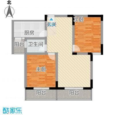 风情年华90.15㎡风情年华户型图2室2厅1卫1厨户型10室