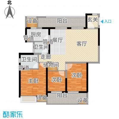 佳兆业御峰140.00㎡佳兆业御峰户型图A1户型3室2厅2卫1厨户型3室2厅2卫1厨
