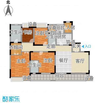 佳兆业御峰220.00㎡佳兆业御峰户型图D户型4室2厅3卫1厨户型4室2厅3卫1厨