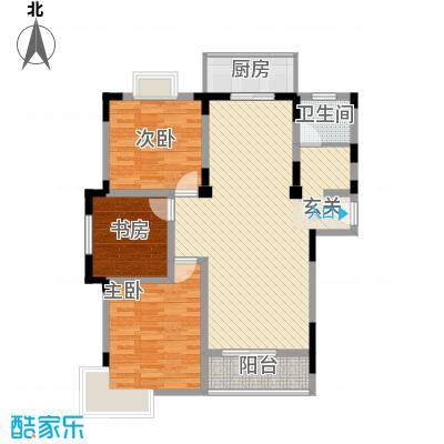 风情年华111.65㎡风情年华户型图3室2厅1卫1厨户型10室