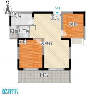 方桥新镇方桥新镇户型图两室两厅户型图12室2厅1卫1厨户型2室2厅1卫1厨
