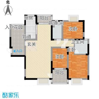 新城花园新城花园户型图2-13室2厅1卫1厨户型3室2厅1卫1厨