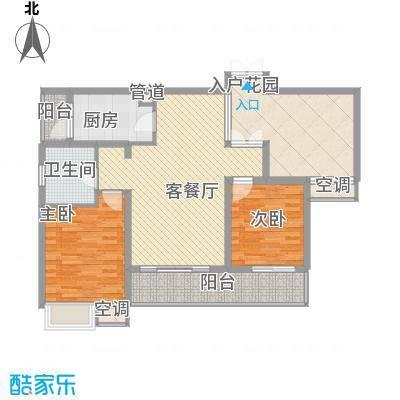 紫云花园104.00㎡紫云花园3室户型3室