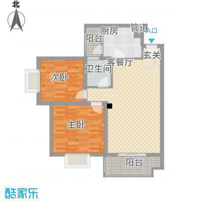 汪塘东村55.00㎡汪塘东村2室户型2室
