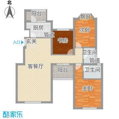 融科玖玖城134.93㎡融科玖玖城户型图4#、7#、8#楼E5户型3室2厅2卫户型3室2厅2卫