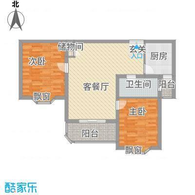 少荃家园少荃家园户型图43室2厅1卫1厨户型3室2厅1卫1厨