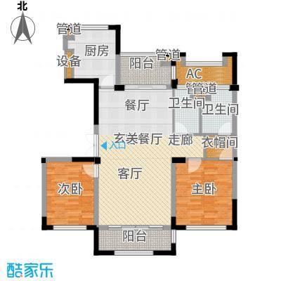 太湖锦园115.00㎡太湖锦园户型图宽景公寓A1户型3室2厅2卫户型3室2厅2卫