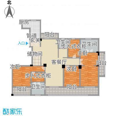 一品城294.00㎡一品城户型图高层户型C2-3室2厅3卫-约294㎡3室2厅3卫1厨户型3室2厅3卫1厨