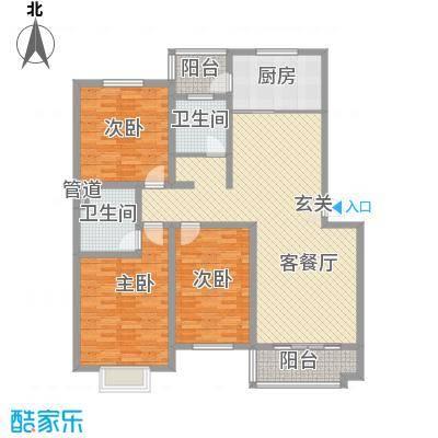 大地家园170.00㎡大地家园3室户型3室