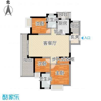 景亭苑137.00㎡景亭苑户型图3室户型图3室2厅1卫1厨户型3室2厅1卫1厨