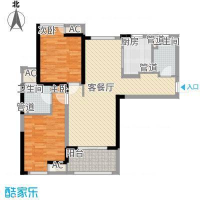壹号公馆110.00㎡壹号公馆户型图G4号楼J户型2室2厅2卫1厨户型2室2厅2卫1厨