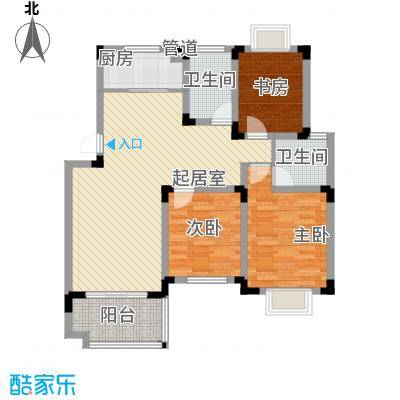 学墅丽邦119.98㎡学墅丽邦户型图B3室2厅2卫户型3室2厅2卫