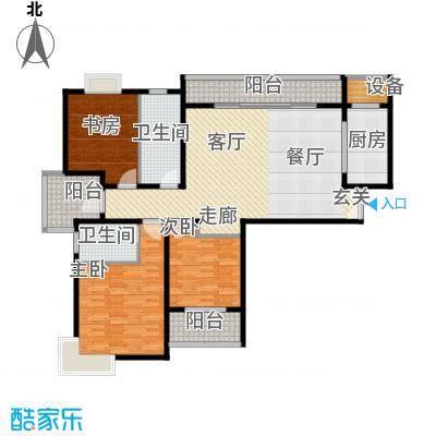 长江绿岛二期135.00㎡长江绿岛二期户型图3室户型图3室2厅2卫1厨户型3室2厅2卫1厨