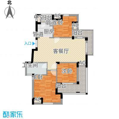 东鼎世纪119.30㎡东鼎世纪户型图户型偶数D23室2厅1卫1厨户型3室2厅1卫1厨