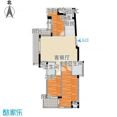 东鼎世纪119.30㎡东鼎世纪户型图户型奇数层E1b3室2厅2卫户型3室2厅2卫