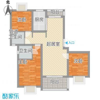 景泉花园98.00㎡景泉花园户型图3室户型图3室2厅1卫1厨户型3室2厅1卫1厨