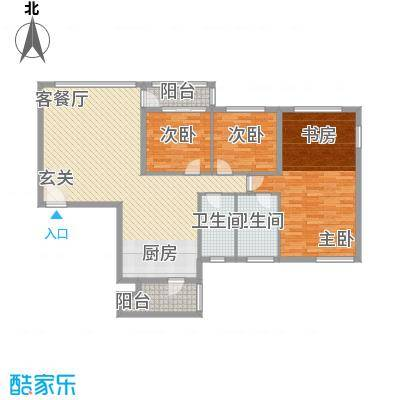 茂业豪园149.00㎡茂业豪园户型图阔绰豪华双套房3室2厅2卫户型3室2厅2卫
