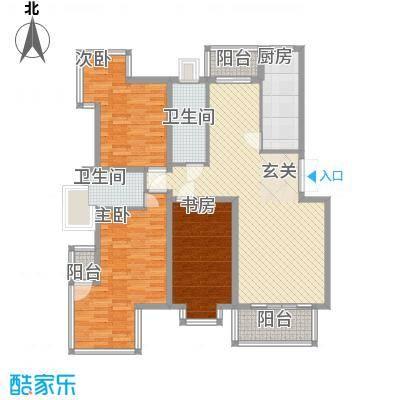 华厦清水湾151.00㎡C-151户型10室