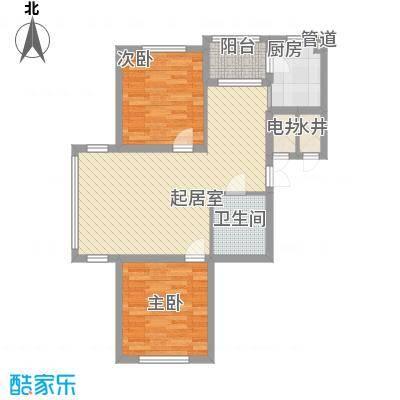 龙湖湾94.74㎡龙湖湾户型图B户型2室2厅1卫1厨户型2室2厅1卫1厨