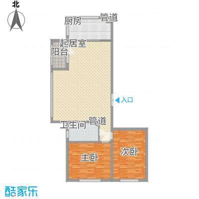 龙湖湾130.19㎡龙湖湾户型图F户型2室2厅1卫1厨户型2室2厅1卫1厨