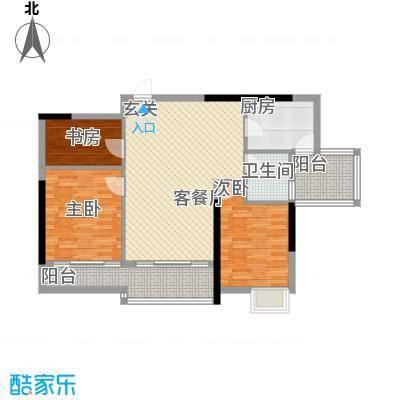塔影苑114.00㎡塔影苑户型图3室户型图3室1厅1卫1厨户型3室1厅1卫1厨