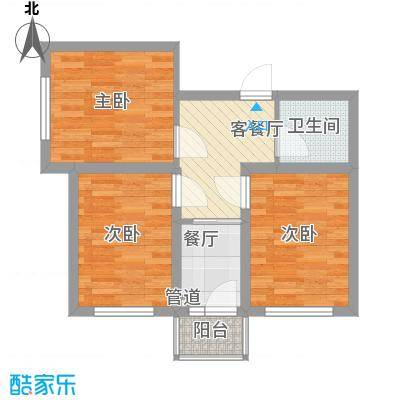 果园星城果园星城户型图两室一厅2室1厅1卫1厨户型2室1厅1卫1厨