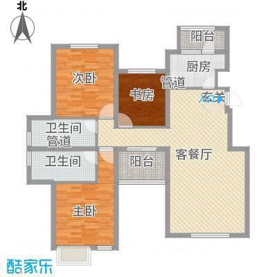 融科玖玖城134.93㎡融科玖玖城户型图4#、7#、8#楼E6户型3室2厅2卫户型3室2厅2卫