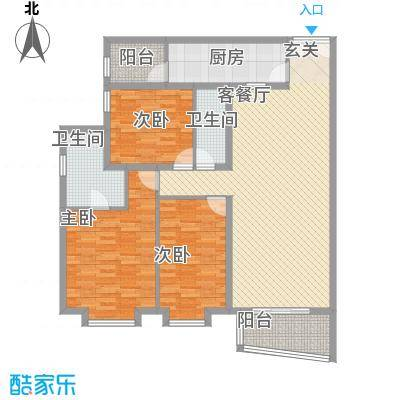 永德苑户型图3室 户型图 3室2厅2卫1厨