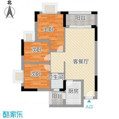 石楼小区73.00㎡石楼小区2室户型2室