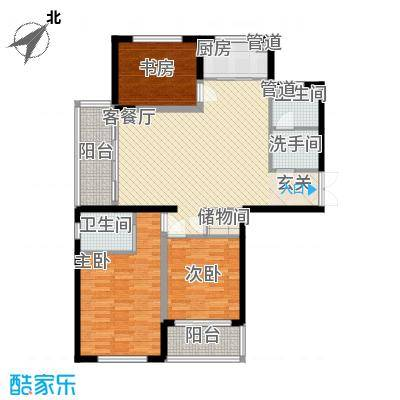 新恒生大厦64.00㎡新恒生大厦2室户型2室