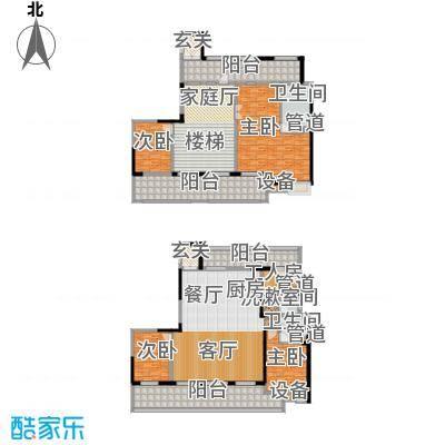 佳兆业御峰220.00㎡佳兆业御峰户型图F2户型4室3厅3卫1厨户型4室3厅3卫1厨