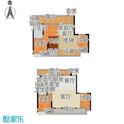 佳兆业御峰220.00㎡佳兆业御峰户型图B3户型5室3厅3卫1厨户型5室3厅3卫1厨