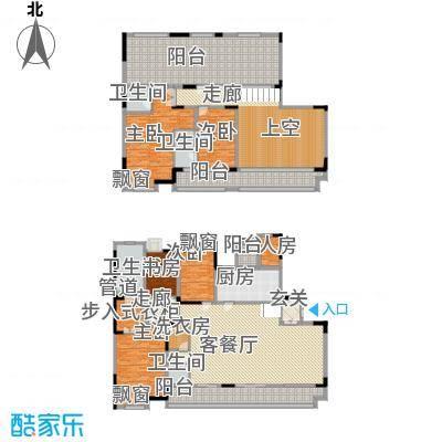 佳兆业御峰220.00㎡佳兆业御峰户型图D1户型5室2厅4卫1厨户型5室2厅4卫1厨