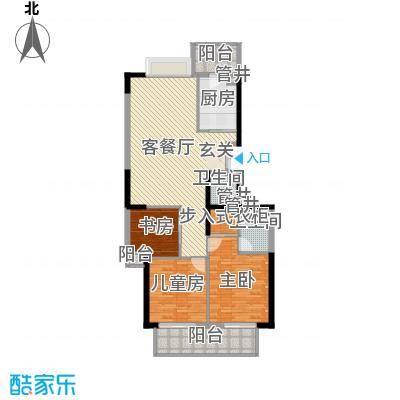 蔚蓝国际146.51㎡蔚蓝国际户型图3室2厅2卫户型10室