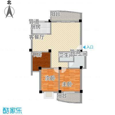 水岸华庭109.11㎡水岸华庭户型图3室2厅2卫户型10室