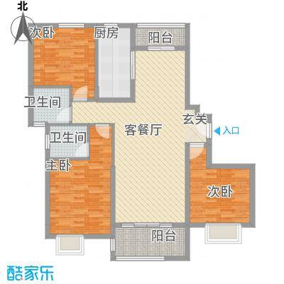 星河公馆星河公馆户型展板设计A户型10室