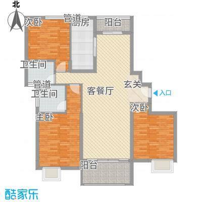 星河公馆139.00㎡星河公馆户型图D区A户型3室2厅2卫1厨户型3室2厅2卫1厨