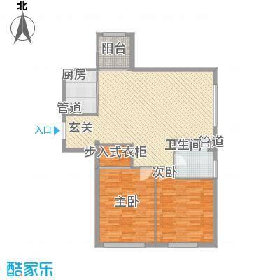 汇锦庄园127.00㎡汇锦庄园户型图高层G1-1-02户型2室2厅1卫1厨户型2室2厅1卫1厨