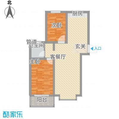 福馨景苑92.21㎡福馨景苑户型图A1户型2室2厅1卫1厨户型2室2厅1卫1厨