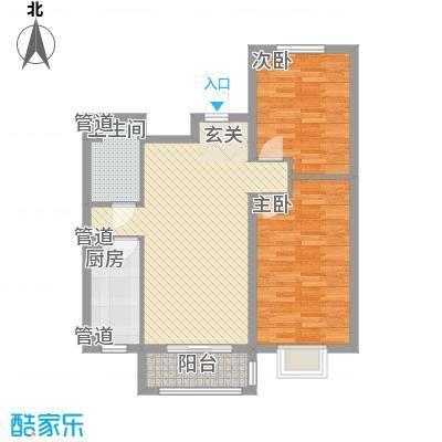 新天地鹭港新天地鹭港户型图21区B户型2室2厅1卫1厨户型2室2厅1卫1厨