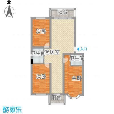 海富山水文园96.31㎡海富山水文园户型图三室二厅一卫户型3室2厅1卫1厨户型3室2厅1卫1厨