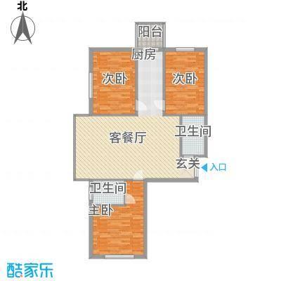 峰尚福成二期89.89㎡峰尚福成二期户型图A2户型3室2厅2卫1厨户型3室2厅2卫1厨