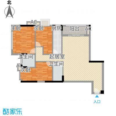 经典居户型图3室1厅