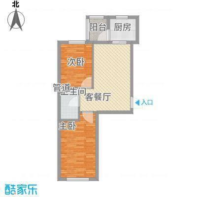 泰和轩泰和轩户型图户型使用面积54.14㎡2室1厅1卫1厨户型2室1厅1卫1厨