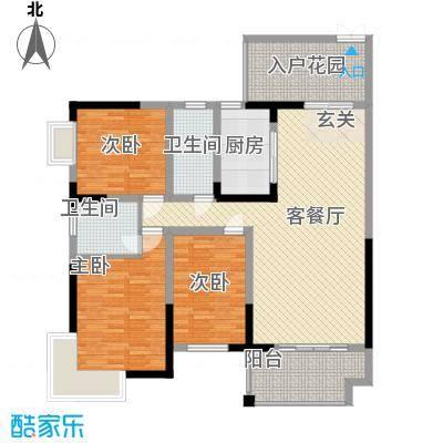 解放大街大院3室2厅户型3室2厅1卫1厨