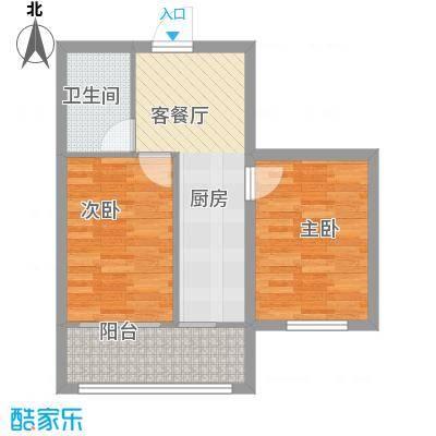 明光水岸38.11㎡明光水岸户型图3号楼户型52室1厅1卫户型2室1厅1卫