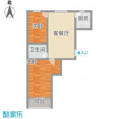 金泰花园94.00㎡金泰花园户型图E3户型2室2厅1卫1厨户型2室2厅1卫1厨