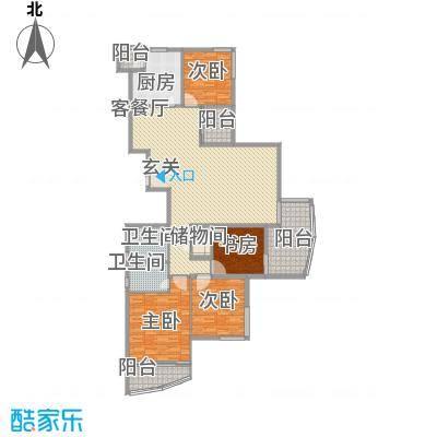 大儒世家绿园235.00㎡大儒世家绿园户型10室
