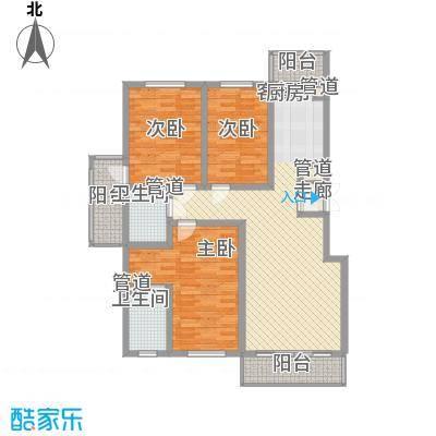 果园星城110.40㎡果园星城户型图3室1厅1卫1厨户型10室